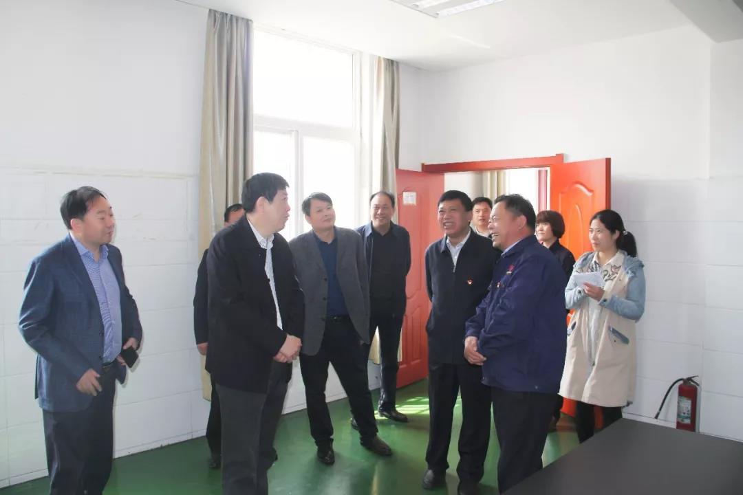 今日利通|漯河市副市长栗社臣莅临调研