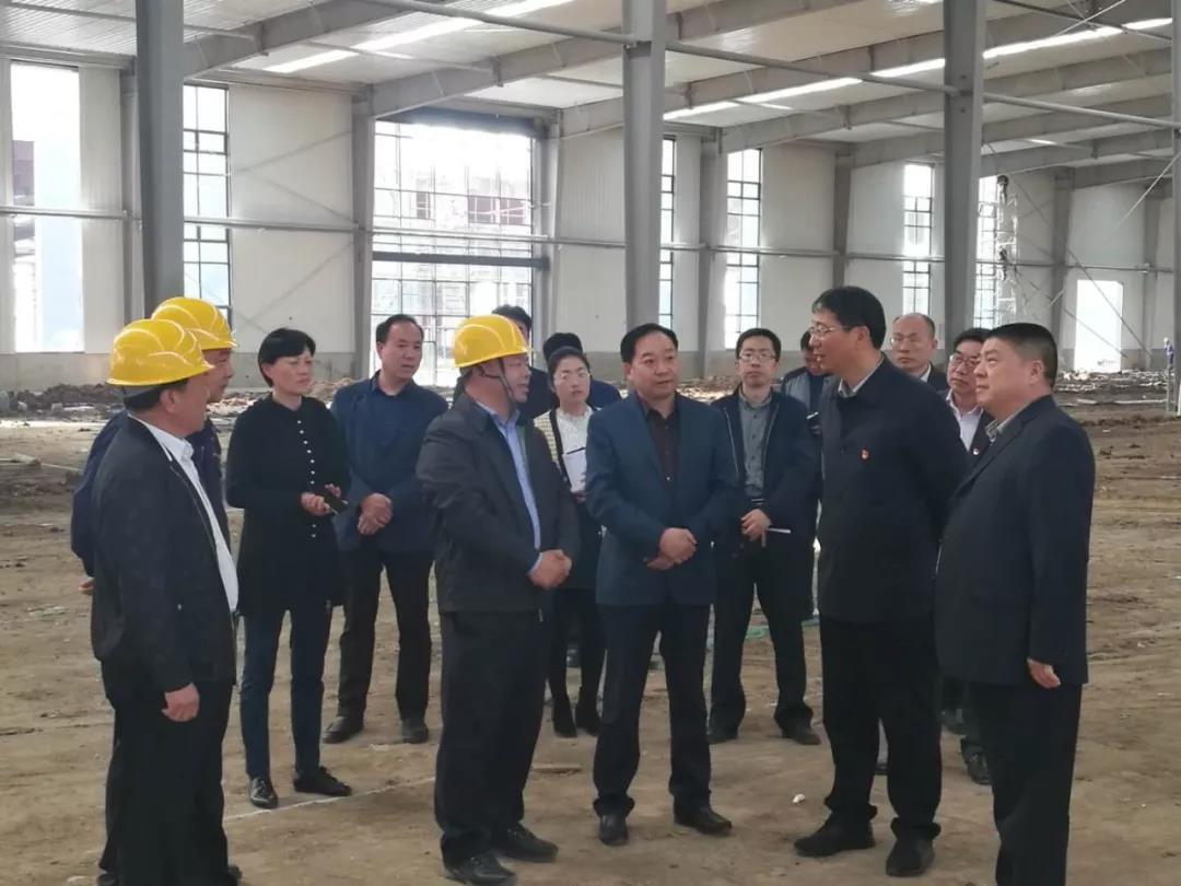 今日利通|漯河市市委副书记、市长刘尚进莅临调研
