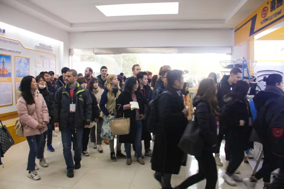 北京语言大学师生莅临我司参观考察