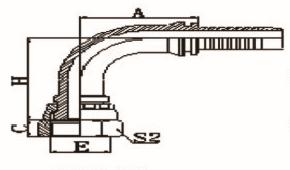 90°公制内螺纹平面