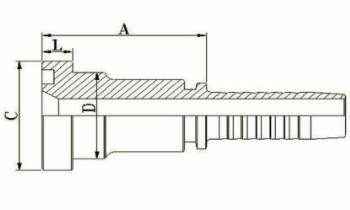 SAE 法兰 3000PSI ISO 12151-3-SAE J516