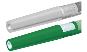 150PSI优质造纸厂/乳业冲洗软管-带锥形喷嘴