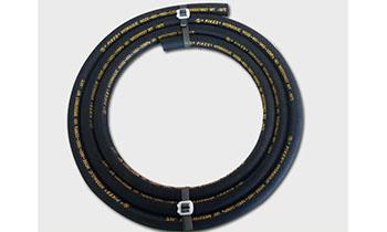 超高温耐热油钢丝编织液压胶管