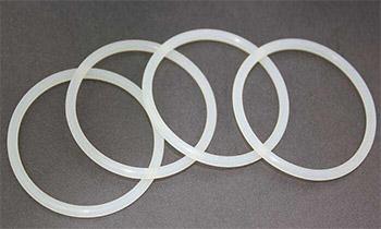 白色氯丁橡胶密封圈 FDA快速接头垫圈
