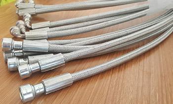 特氟龙钢丝编织管 特氟龙钢丝管